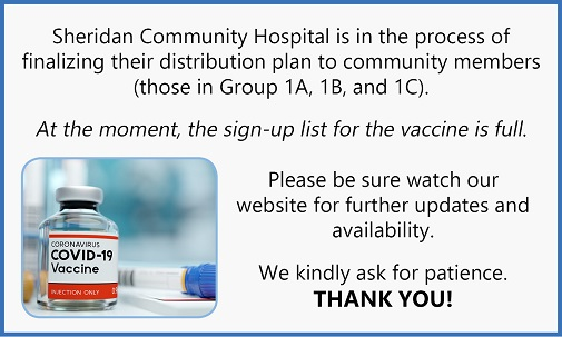 Vaccine Sign-Up List Full